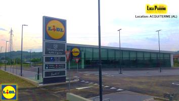 Il nuovo punto vendita LIDL di Acqui Terme, advisor Luca Parrino Retail